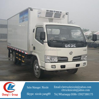 5ton 4*2 brand new dongfengThermo king refrigerated standby electric unit truck