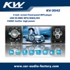 "Fixed panel 4.0"" usb car video player with fm am receiver & bluetooth"