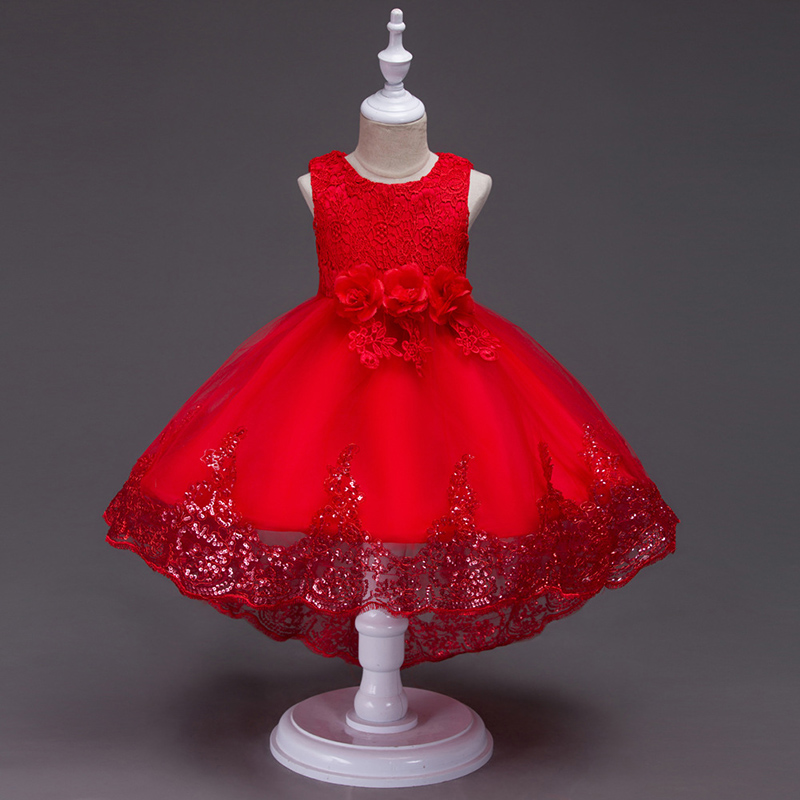 High quality girl's dress latest boutique cloth children's night dress