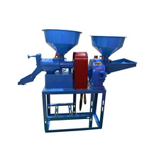 Easy maintenance rice mill with diesel engine