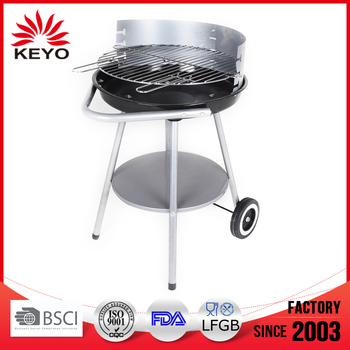 Hotlink KY23020B Trolley Simple Barbecue BBQ Grill With wheels