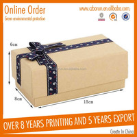 Brand new white paper box for happy birthday cards for wholesales