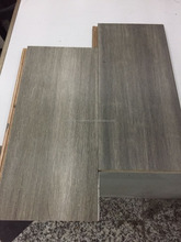 Grey Bamboo Flooring Grey Color Durable Solid Strand woven bamboo flooring 14mm click