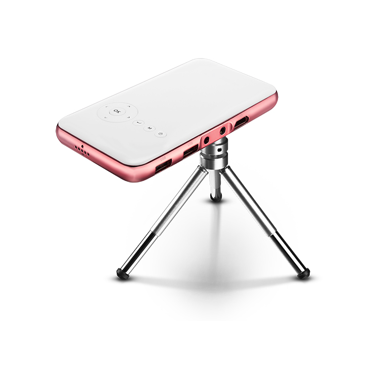 Factory supply pink dlp mini smart <strong>projector</strong> with high quality