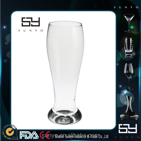 2014 crazy sale 500ml beer glass for brazil world cup