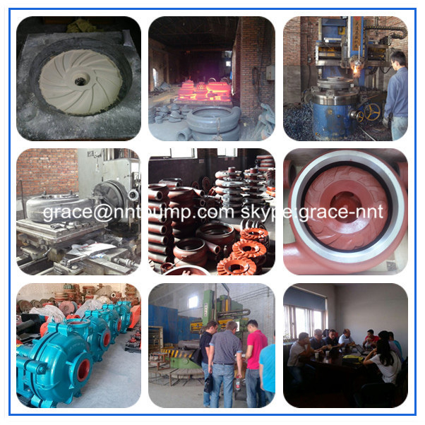 China Made Anti Abrasive Sand Gravel Dredge Slurry Pump