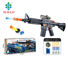 Crystal water bullet gun toy for children wholesale water bubble gun SJL-1801007