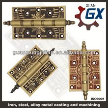 High quality silent long life brass continuous piano hinges