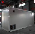 China made prefab shipping flat pack container house luxury for living office