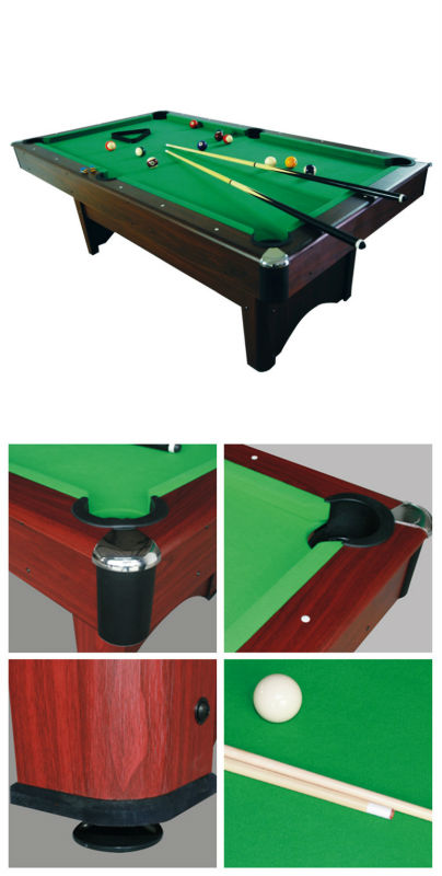 Hot sale indoor portable pool table for sale good quality for Convert indoor pool table to outdoor