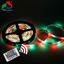 DC12V SMD2835 54Leds/M 24Key Controller IP65 Changeable Color 5m Christmas Led Strip Lighting With <strong>RGB</strong>