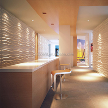 New style wall construction 3d background board decorative 3d board wall cladding