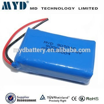 MD Battery 2S1P 7.4v 900mah lipo battery pack lithium soft pack batteries