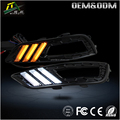 High Power car led drl with turning function 12v led daytime running light for fordd focuss 2015
