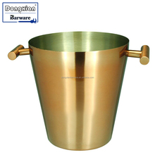 Wine Ice Champagne Bucket Handles Stainless Steel,Good Quality whiskey ice bucket