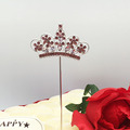 Shine Sparkles Crown Cake Topper For Anniversary, Birthday Party and Wedding