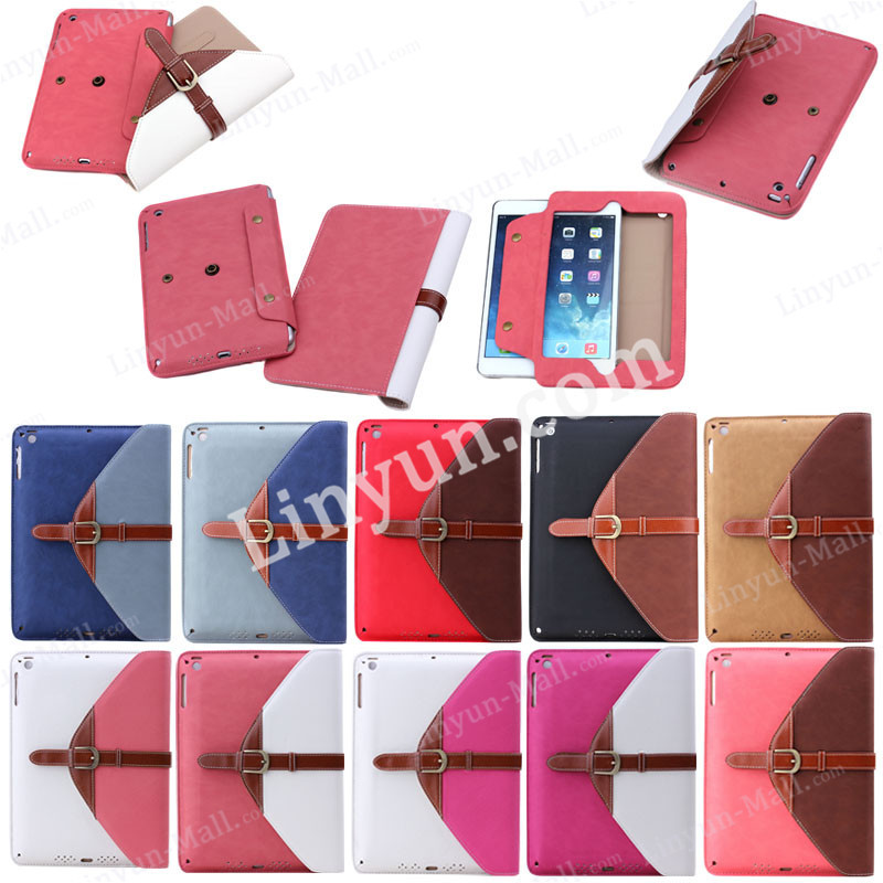 Factory Hot Selling Unique Detachable Leather Case for iPad Mini 1/2/3