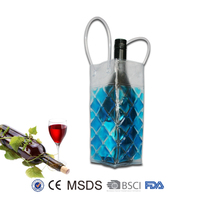 Fabric wine bottles covers
