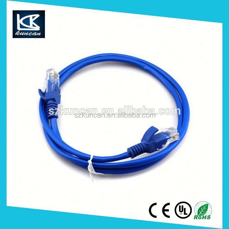 Colorful custom utp cat5 cat5e cat6 cable 24AWG/26AWG jumper cable