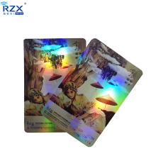 Wholesale Glossy Hologram surface business PVC luxury <strong>card</strong>