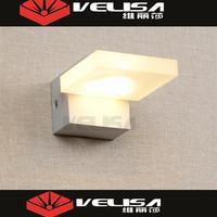 China Suppliers 3W& 6W & 9W & 12W Acrylic led wall mirror light/ bathroom mirror light