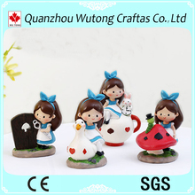 Fairy tale character child room decoration lovely resin girl figurine
