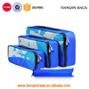 Fast Delivery Packing Cubes Travel Organizer Mesh Bags-3 Pcs Lightweight Set Travel Gear Bag