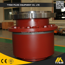 Hydraulic planetary motor gearbox drilling machine
