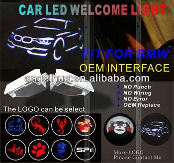 Newest CREE led car logo light door logo projector lights small size