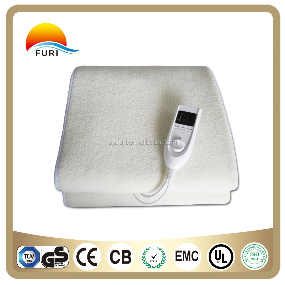 OEM portable comforter electric blanket for bed