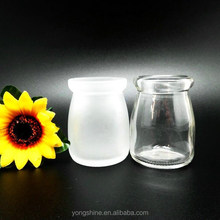 New 80ml Pudding and candle glass bottle