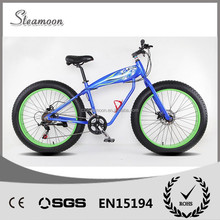 2015 new products 250W/500W 36V lithium battery 26 inch fat tire electric bike for sale