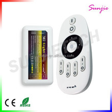 4 Zone Group 2.4G Wireless Touch Remote Color Temperature Adjustable LED Controller