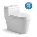 A3981 siphonic one piece toilet water closet model chaozhou sanitary ware factory manufacturers