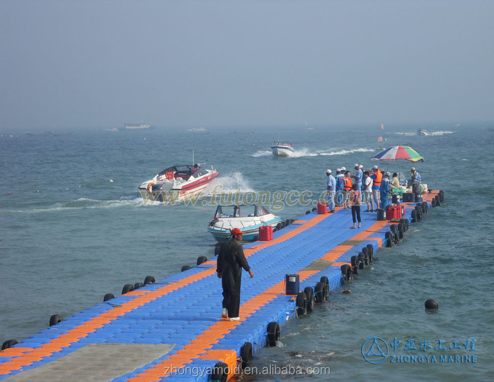 plastic water floating bridge