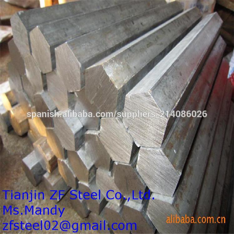 Precio competitivo hexagonal trefilada barra de acero - Varillas de acero precio ...