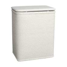 Heavy-Duty Folding Portable Laundry And Handles Clothes Hamper With Lid