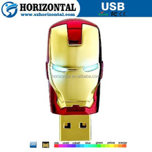 Latest products in market ironman usb flash drive for gift