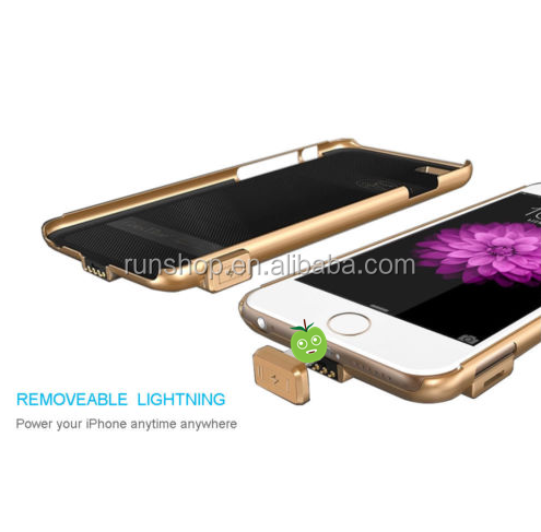 2000mah Power Bank Battery Cover Ultra Thin Phone Case Battery Charger For iPhone 6/S 7/Plus