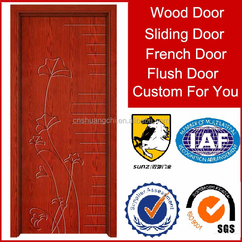 SC-V07 factory price wood and MDF material surrounds interior door