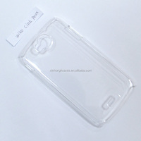 Crystal Clear Plastic Case For Wiko cink peax