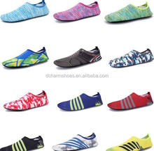 Hot factory price mens and womens aqua sports shoes