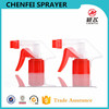 CF-T-3 Transparent cover 28 415 plastic ribbed trigger sprayer head for home cleaning usage