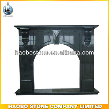 Wood Burning Marble Fireplace
