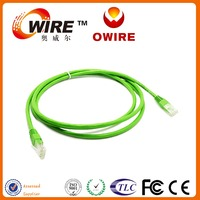 Owire OEM Available CCA copper 350Mhz cat6 utp 1m Network Patch Cord for Indoors