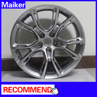 Hot sell SRT8 alloy wheel For Jeep Grand Cherokee 11+ Bright black wheel rims for jeep grand cherokee suv