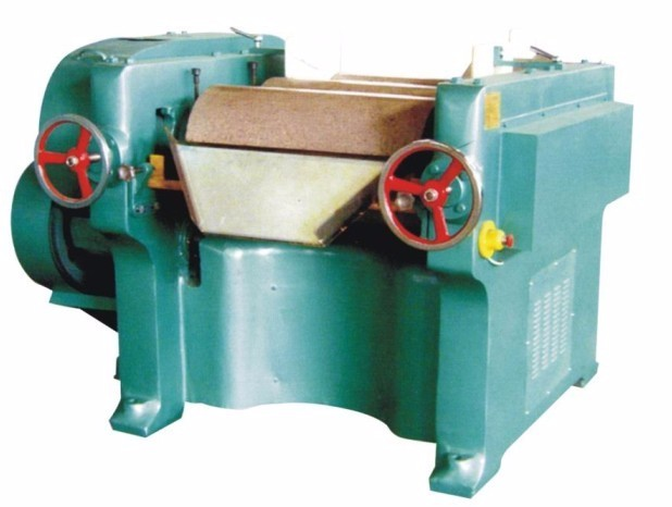 China best price granite rollers triple roll grinding machine for paint