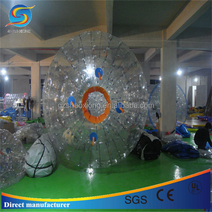 certificated PVC/TPU inflatable zorbing ball,inflatable soccer bumper ball,inflatable water walking ball for sale