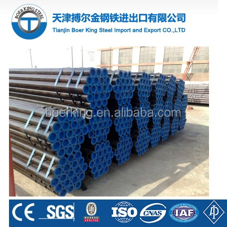 Astm a106 grb hydraulic cylinder carbon seamless honed steel tube with high pressure