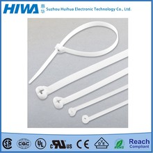 Hot New Products natural nylon stainless steel barb inlay cable tie Strong Packing Factory Manufacturer